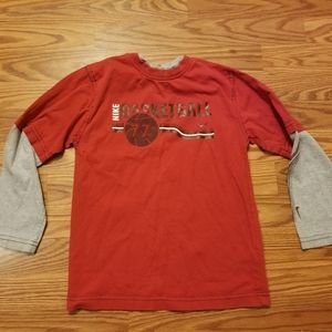 Kids Nike Basketball long sleeve shirt